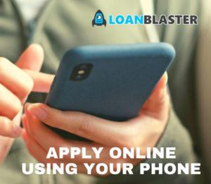 Loanblaster AU apply using your phone