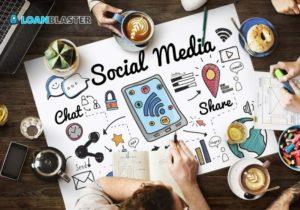 social media marketing concept 2021